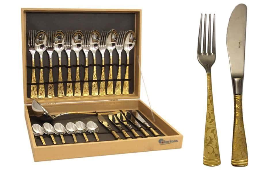 Dubai Oro Набор столовых приборов Giorinox из 51 предмета