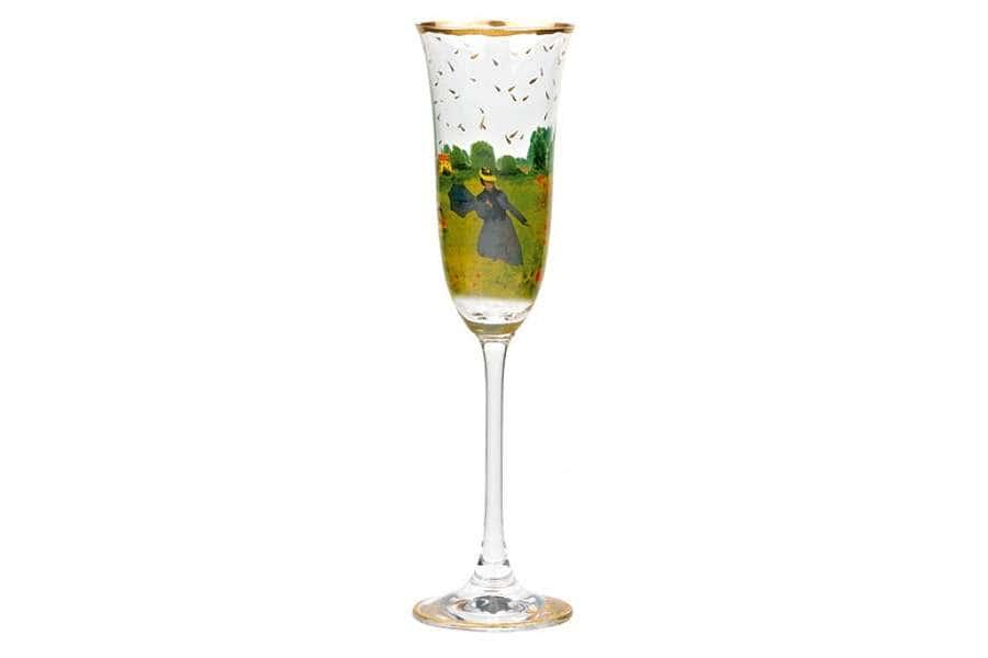 Бокал для шампанского Маковое поле