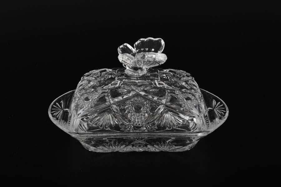Масленка с крышкой из стекла Royal Classics