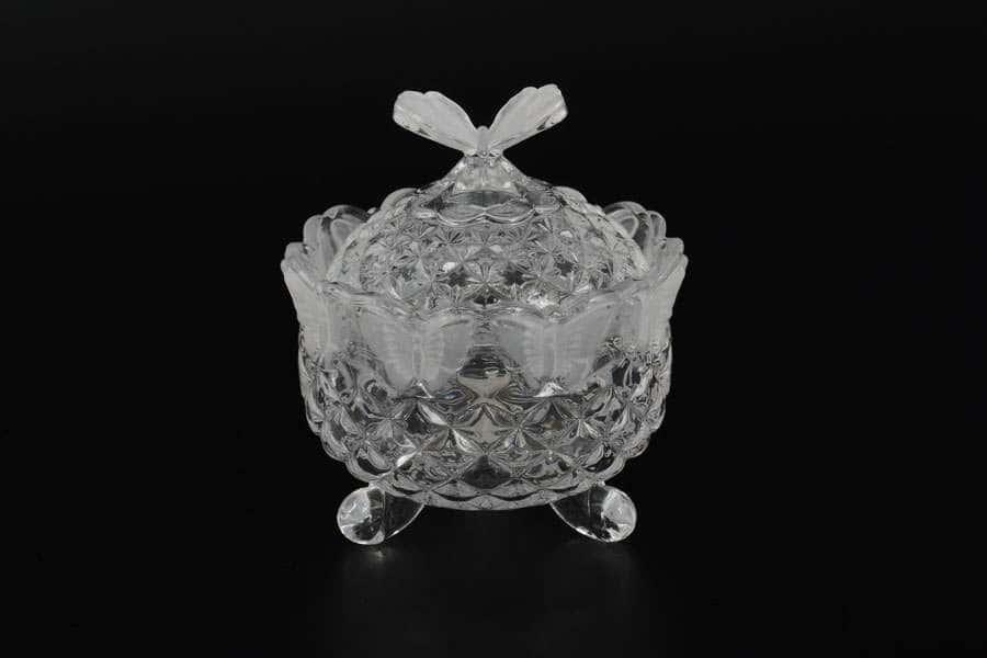 Бабочка Сахарница Royal Classics из стекла