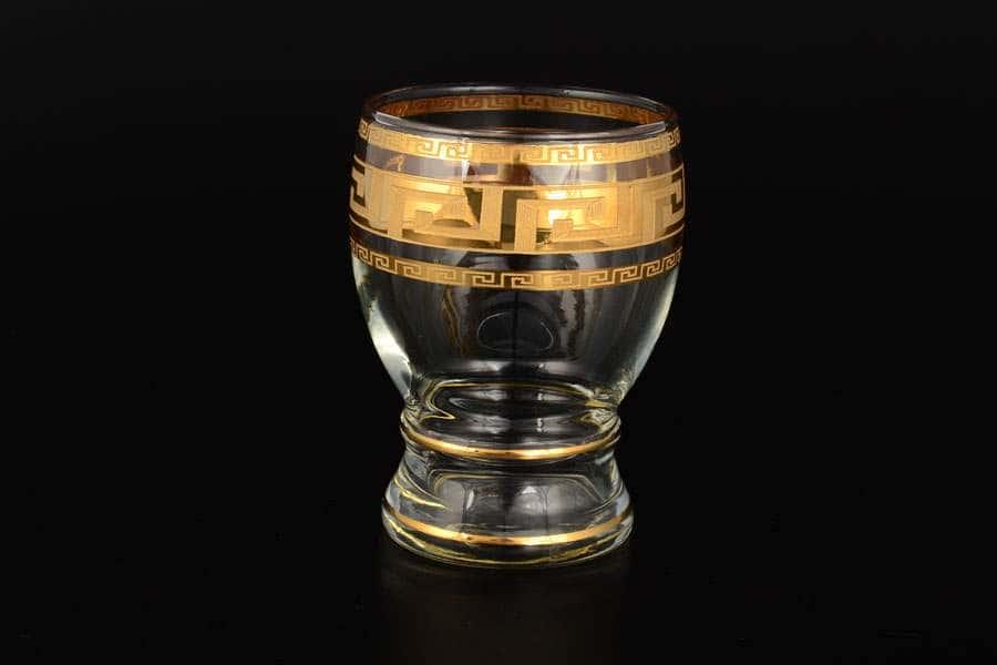 Набор стаканов 6 шт Яна Костка золото Bohemia