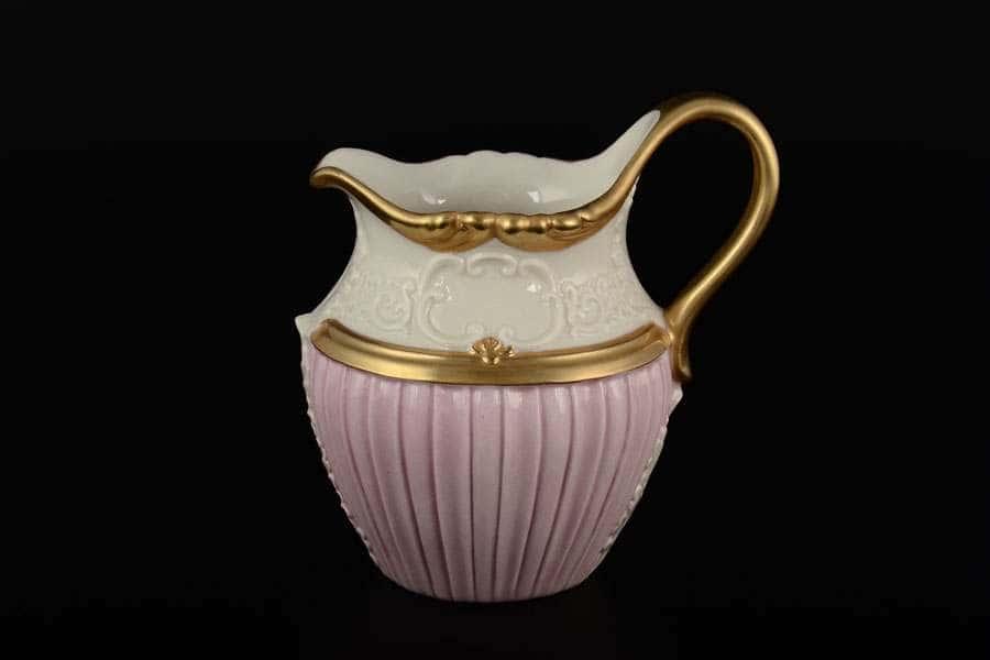 CATTIN Молочник розовый фарфоровый Италия