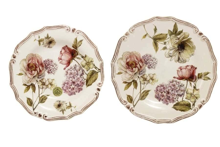 Набор тарелок:суповая+обеденная Сады Флоренции LCS