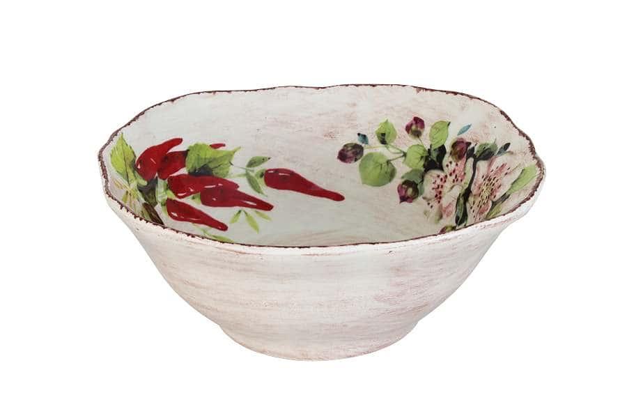 Тарелка суповая Овощное ассорти