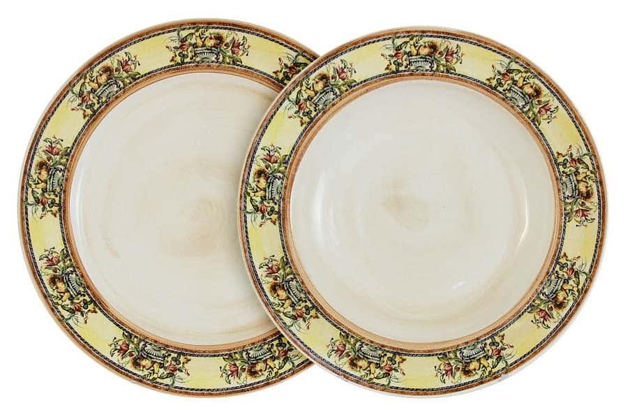 Набор тарелок: суповая + обеденная Старая Тоскана