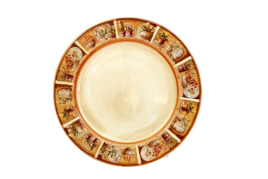 Набор из 2-х десертных тарелок Кантри