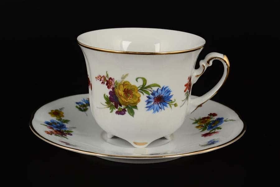 Болеро Весенний букет Набор чайных пар Royal Czech Porcelain