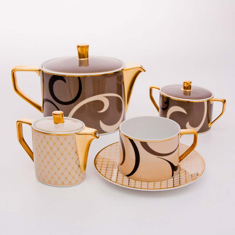Шахерезада Чайный сервиз Rosenthal на 6 персон 15 предметов