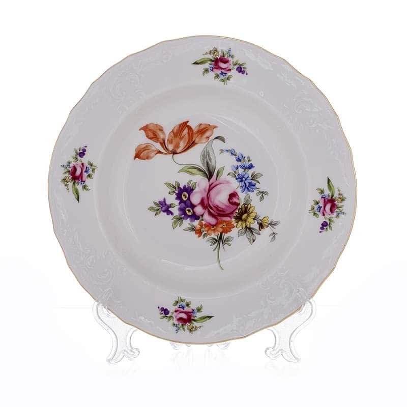 Полевой цветок 5309011 Набор глубоких тарелок Thun  23 см. 6 шт.