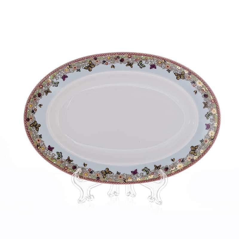 Нина 674200 Блюдо овальное из фарфора 22 см Thun