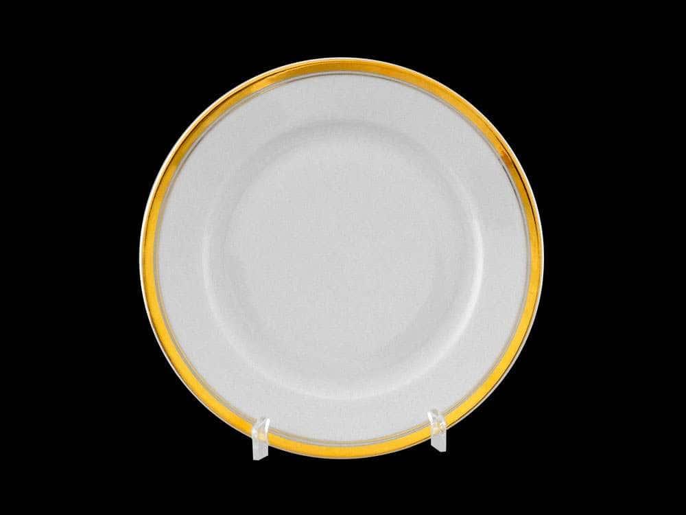 Набор тарелок 17см Сабина Отводка золото