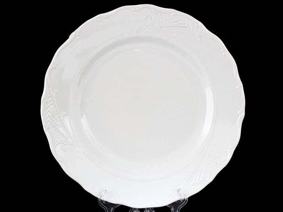 Лиана Недекорированный Блюдо круглое MZ 30 см