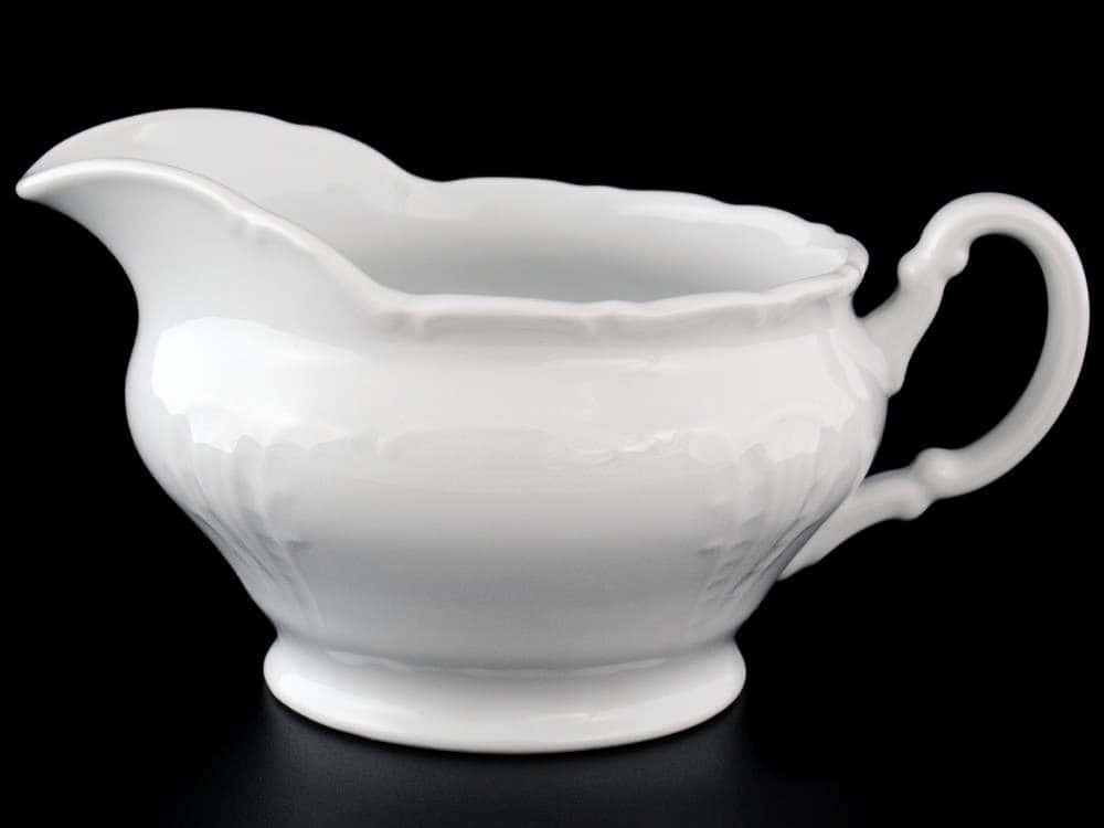 Лиана Недекорированный Молочник из фарфора MZ 300 мл