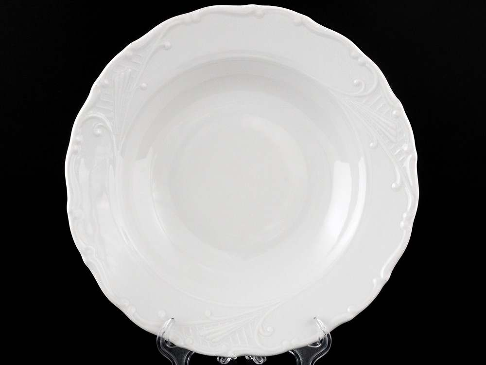 Лиана Недекорированный Набор тарелок глубоких MZ 23 см