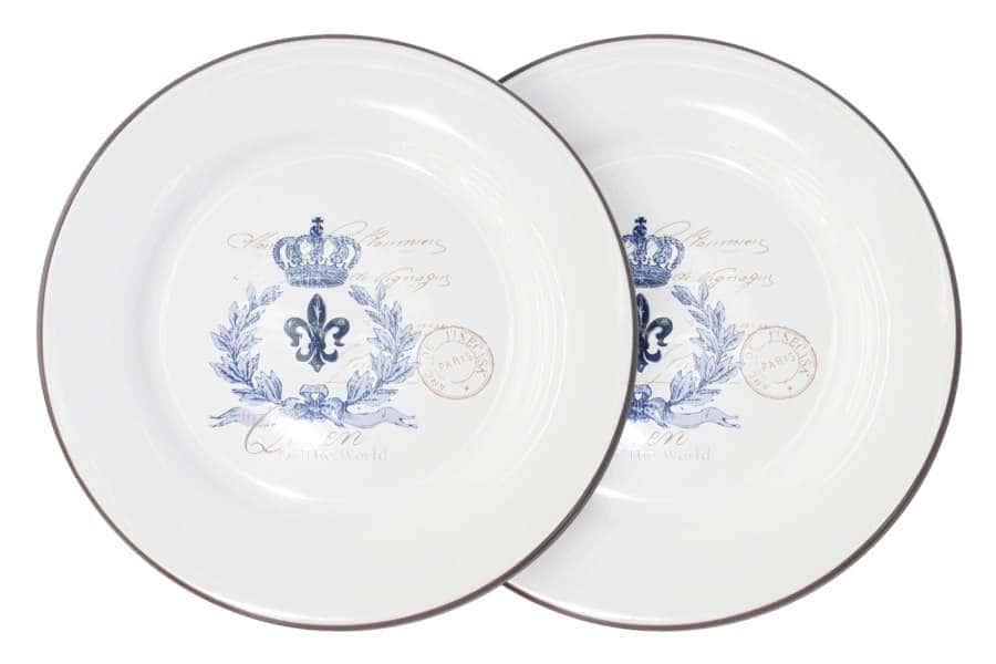 Набор из 2-х обеденных тарелок Королевский LF Ceramic Китай