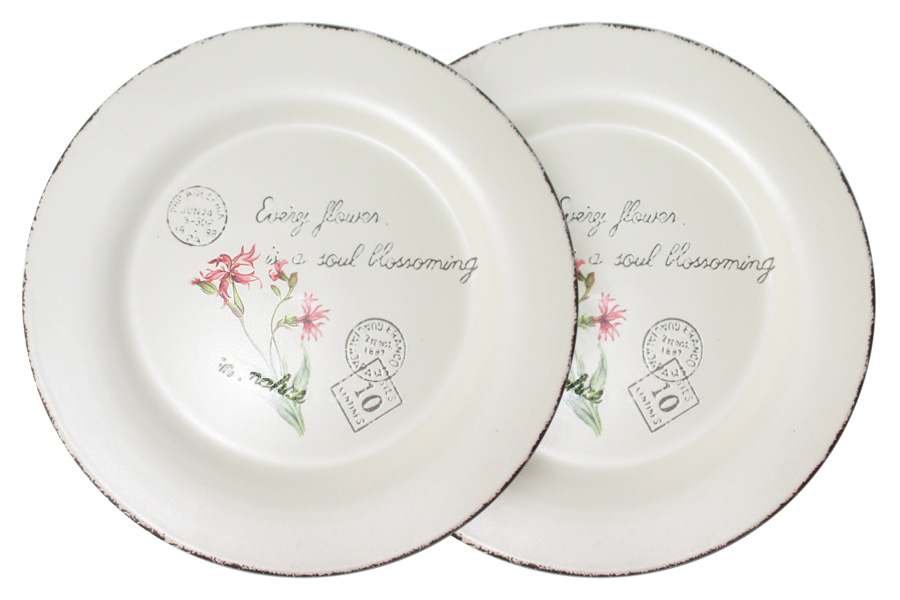 Набор из 2-х обеденных тарелок Воспоминания LF Ceramic Китай