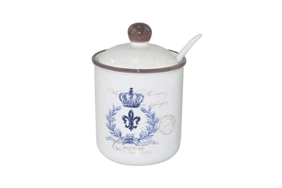 Сахарница с ложкой Королевский LF Ceramic  Китай