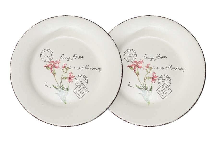 Набор из 2-х десертных тарелок Воспоминания LF Ceramic Китай