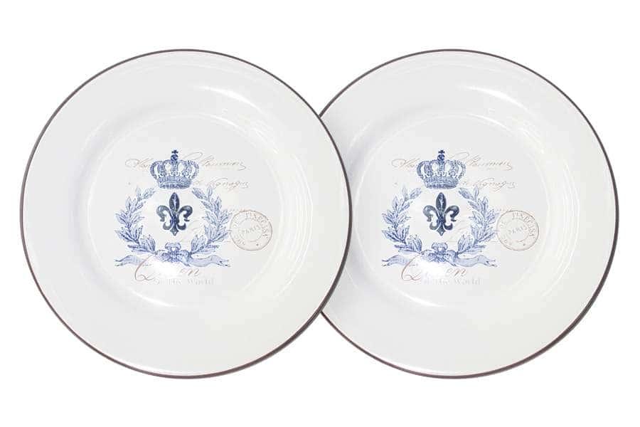 Набор из 2-х десертных тарелок Королевский LF Ceramic Китай