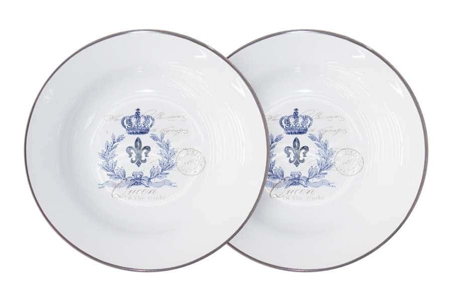 Набор из 2-х суповых тарелок Королевский LF Ceramic Китай