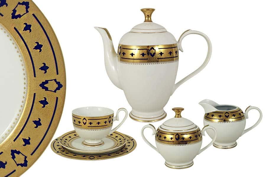Чайный сервиз Медея 23 предмета на 6 персон Midori Китай