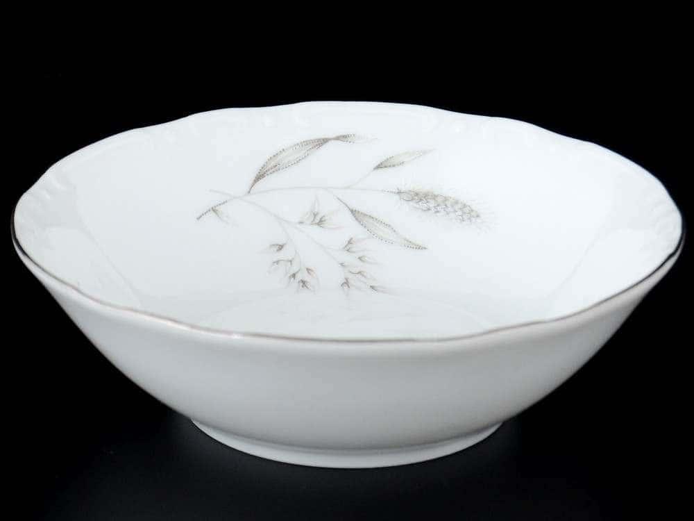Констанция Серебряные колосья Набор салатников Thun 13 см