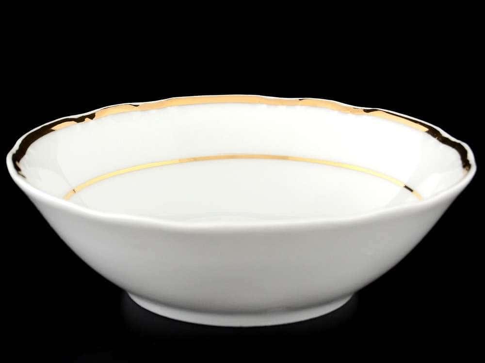 Констанция Отводка золото Набор салатников Thun 13 см