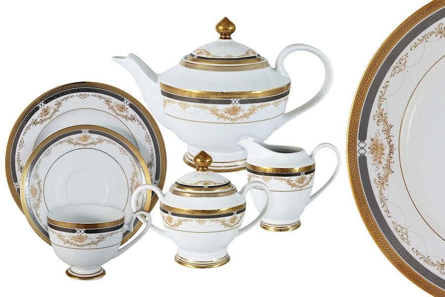 Чайный сервиз Петергоф 23 предмета на 6 персон Midori Китай