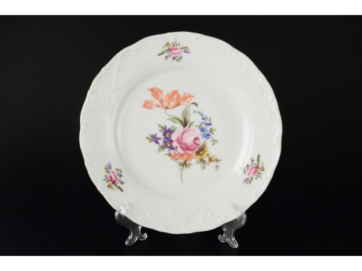 Лиана Полевой цветок Набор тарелок MZ 19 см