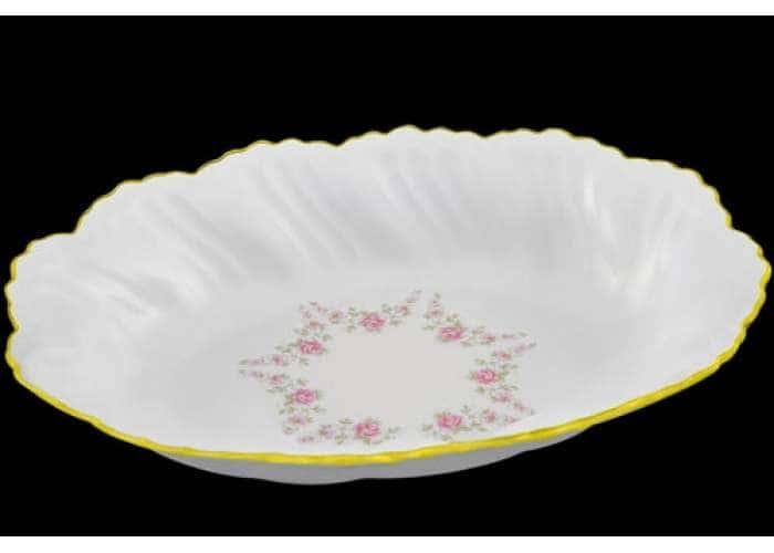 Блюдо овальное глубокое 18,5 см, Соната, Мелкие цветы