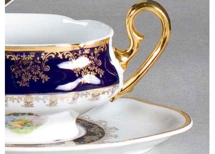 Чашка для супа с блюдцем 350 мл, Мэри-Энн, Мадонна