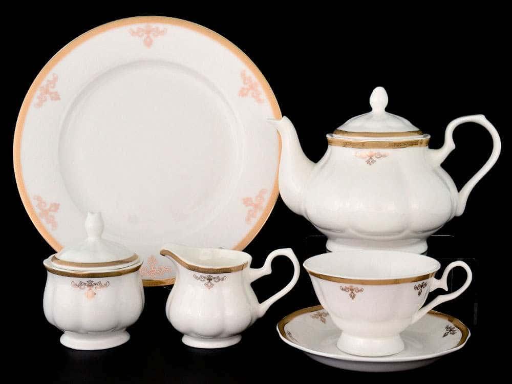 Ампир Чайный сервиз Royal Classics на 12 персон 28 предметов