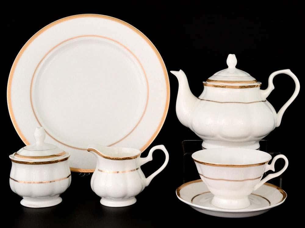 Белла Чайный сервиз Royal Classics на 12 персон 28 предметов