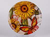 Подсолнухи Тарелка из керамики Waechtersbach 21 см