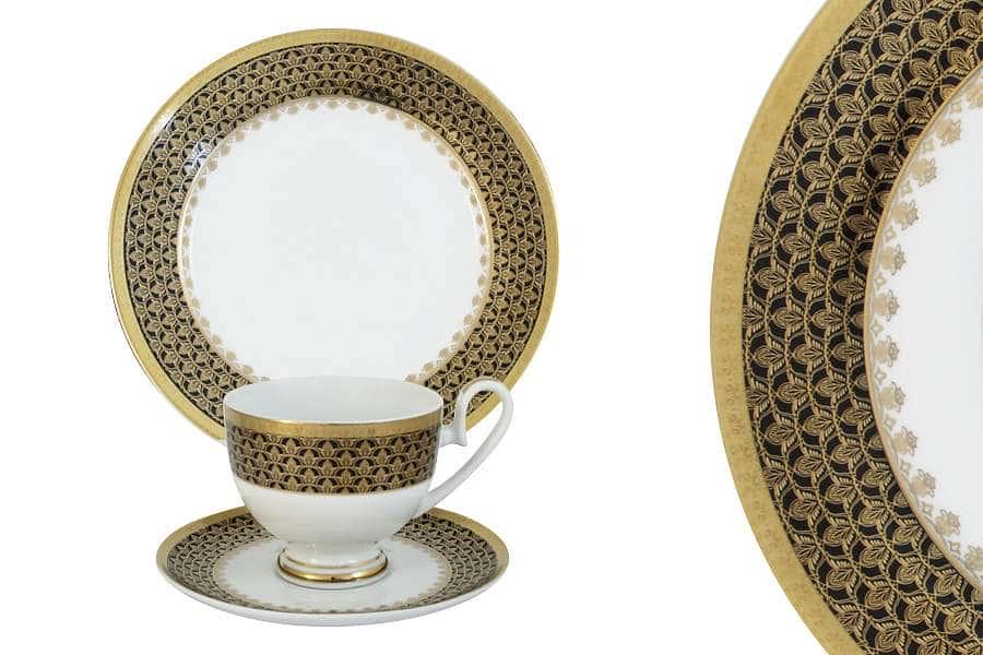 Набор из 3-х предметов Чёрное золото Midori Китай