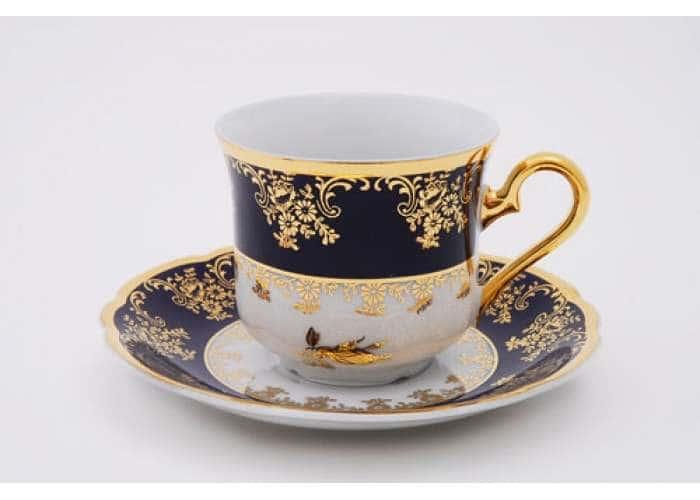 Чашка высокая с блюдцем 0,15 л, Мэри-Энн, Золотая роза