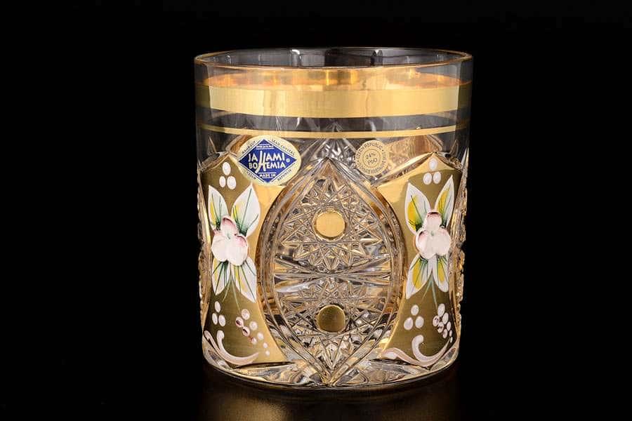Набор стаканов для виски 330 мл Jahami Золото