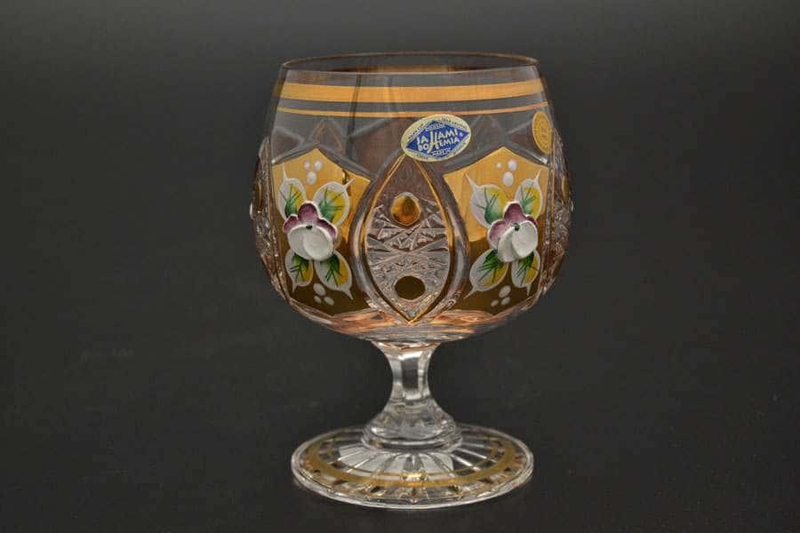 Набор бокалов для бренди 250 мл Jahami Золото