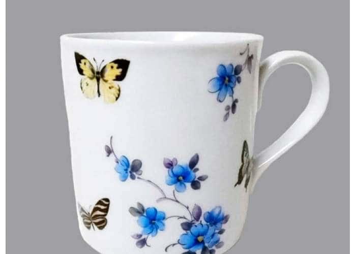 Кружка 0,22л Бабочки