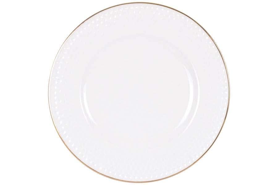 Тарелка плоская 25,5 см Гольф