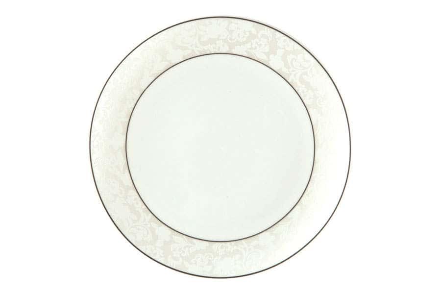 Тарелки плоские 25 см Пион белый