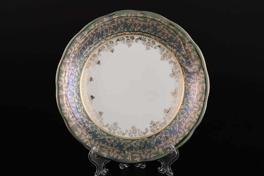 Зеленая Паутинка AL Набор тарелок Royal Porcelain 25 см