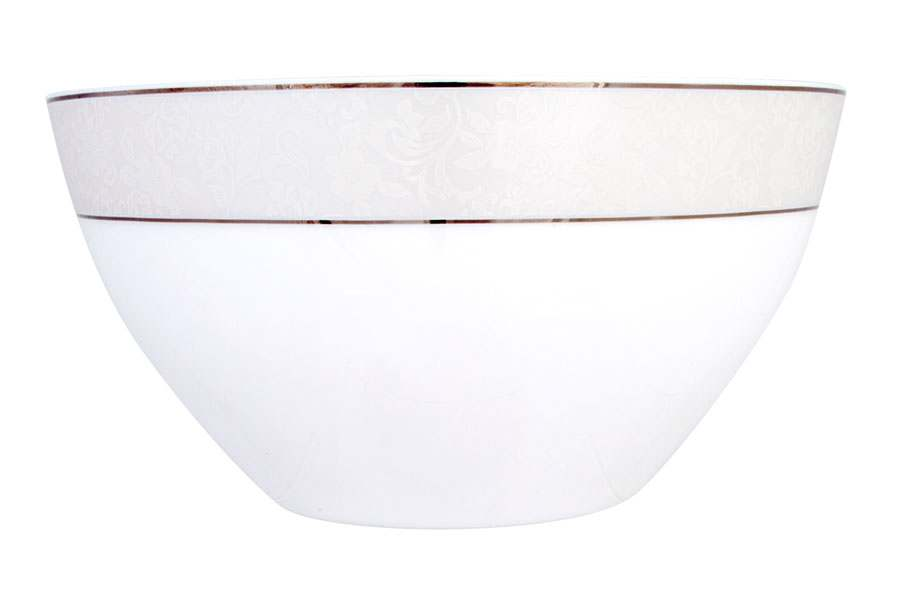 Салатник большой 2,2 л Пион белый