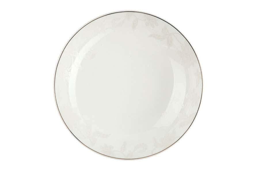 Тарелки суповые 19,5 см 500 мл Белый лотос