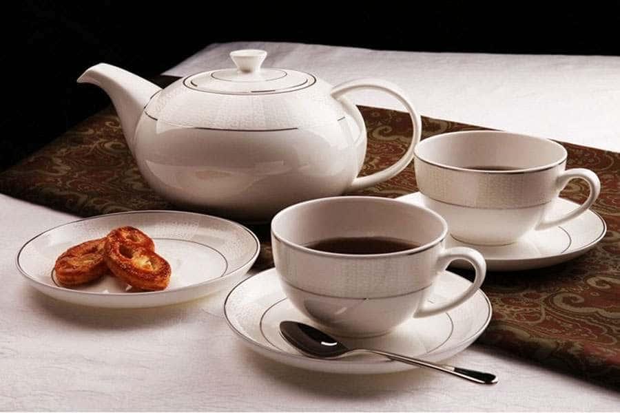 Чайный сервиз Кружево