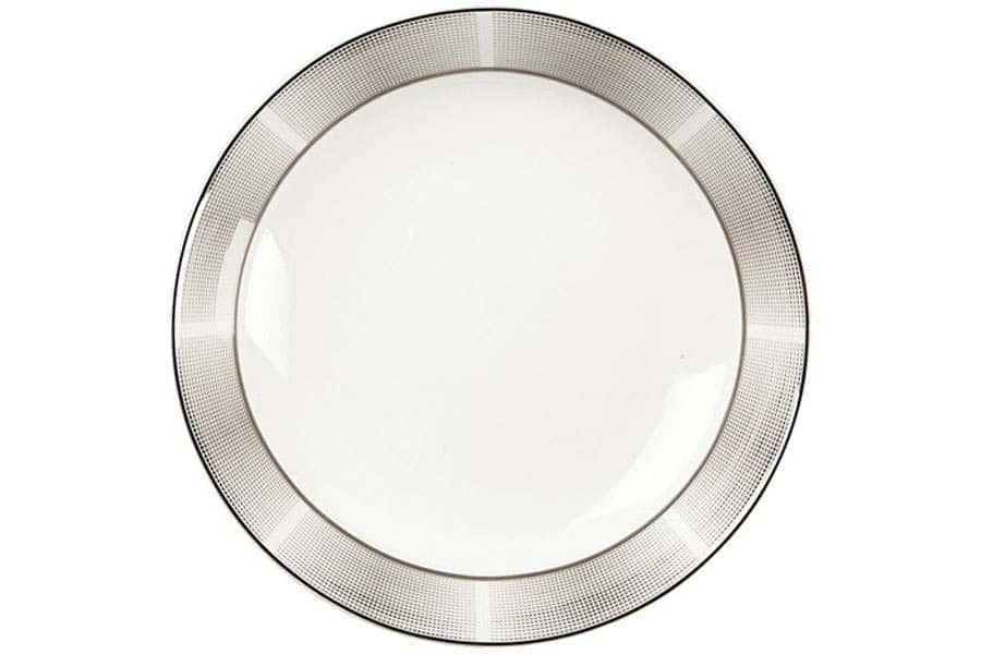 Тарелки суповые 19,5 см 500 мл Серебро
