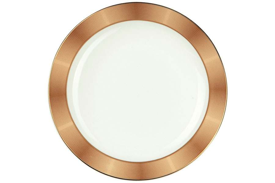 Тарелки суповые 19,5 см 500 мл Золото