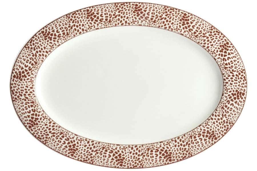 Овальное блюдо 31 см Сафари