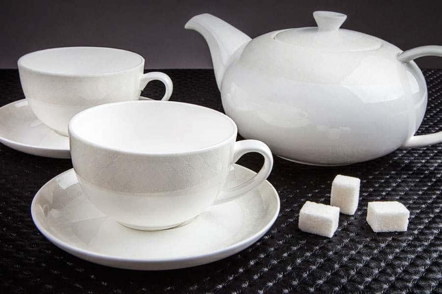 Чайный сервиз Честер (новая форма чайника) на 13 предметов
