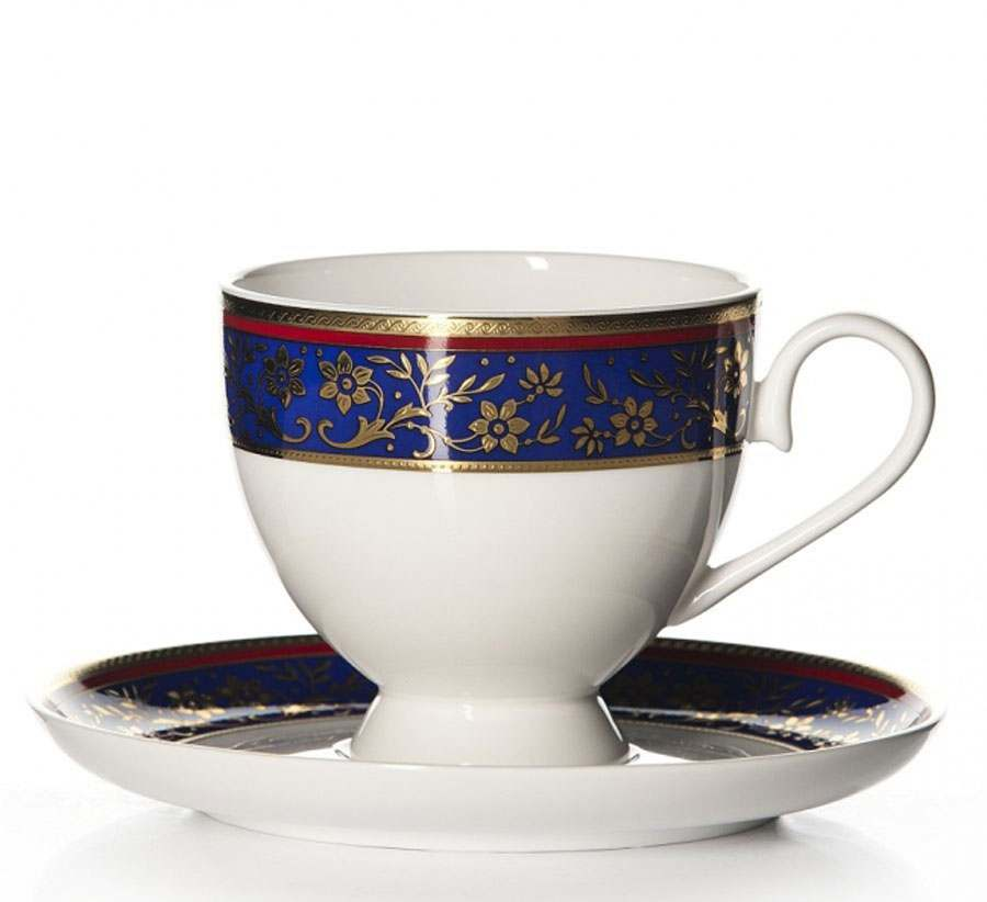 Чайная пара Кобальт